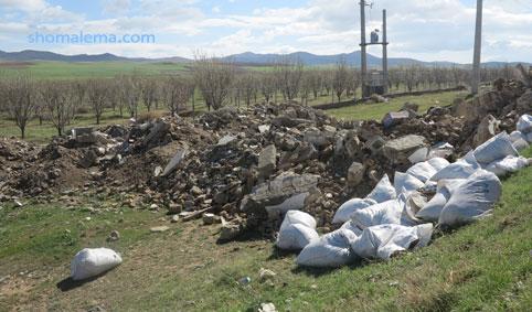نخاله های ساختمانی، مهاجمان جدید روستاهای گیلان