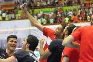گزارش تصویری والیبال ایران – آمریکا