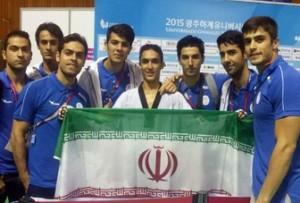 تکواندوکار گیلانی مدال طلای مسابقات جهانی دانشجویان را کسب کرد