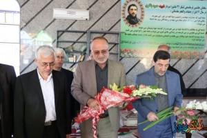ادای استاندار گیلان به شهید نورانی و شهید مدافع حرم+ تصاویر