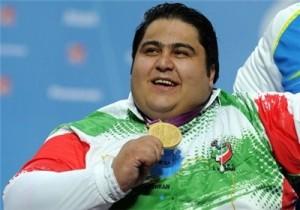 سیامند رحمان رکورد جهان را شکست و قهرمان شد