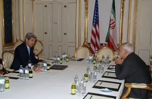 دیدار ظریف و کری پس از نشست وزیران
