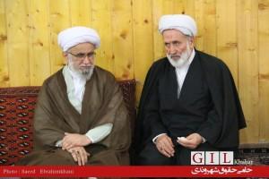 گزارش تصویری نشست جمعی از فعالان رسانه ای با آیت الله رمضانی