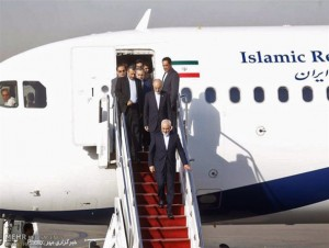 گزارش تصویری/بازگشت تیم مذاکرهکننده هستهای به تهران
