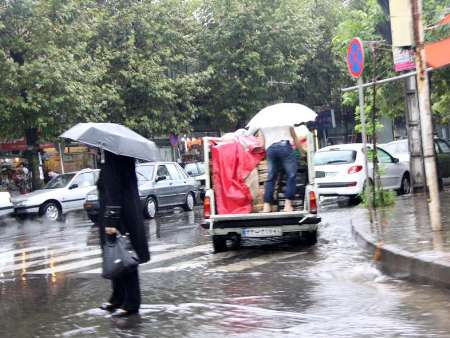 بارش ۶۷ میلیمتری باران در آستارا بعد از ۴۰ روز هوای داغ تابستانی