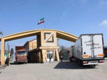 ۵۸ میلیون دلار کالای غیر نفتی از گمرک آستارا صادر شد