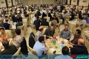 ضیافت افطار حامیان دولت تدبیر و امید در رشت/گزارش تصویری