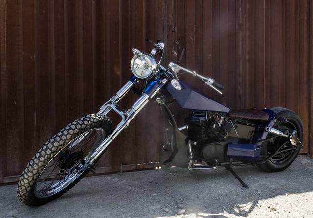 موتورسیکلت دست ساز ایرانی+تصاویر