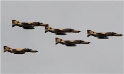 جنگندههای F4 مامور حراست هوایی از نیروگاه هستهای بوشهر و منطقه پارس جنوبی