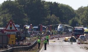 سقوط هواپیمای نظامی ۲۰ کشته به جای گذاشت + تصاویر