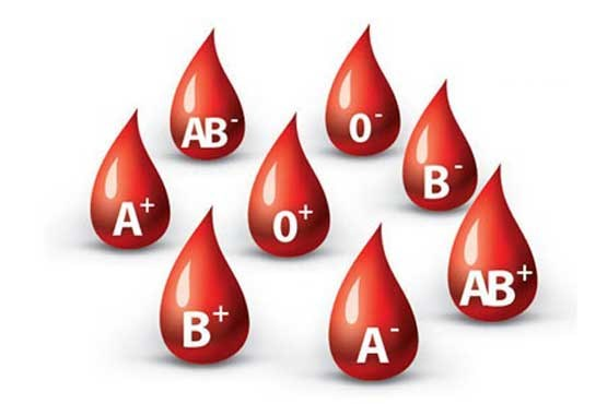 ۳۸ درصد مردم گروه خونی «O» دارند