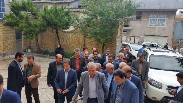 وزیر تعاون، کار و رفاه اجتماعی در سالن توانبخشی بهزیستی شهرستان رشت + گزارش تصویری