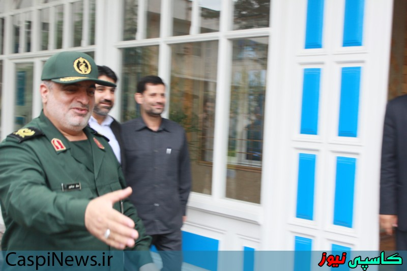 دیدار سردار عبدلله پور با مدیرکل جدید صدا و سیما گیلان/ گزارش تصویری