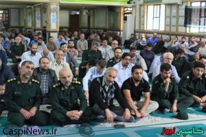 مراسم یادبود مرحوم آیت الله خزعلی(ره) در رشت بر گزارشد+گزارش تصویری