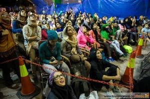تصاویر:حواشی دیدنی مسابقات سنگ نوردی قهرمانی دختران کشور