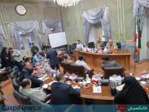 گزارش تصویری جلسه انتخاب هیات رئیسه شورای اسلامی شهر رشت