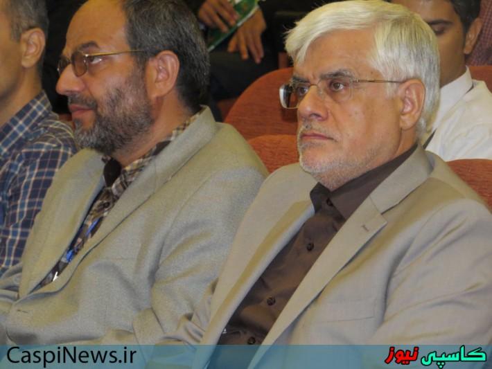 دوازدهمین کنفرانس انجمن رمز با حضور دکتر عارف در رشت/گزارش تصویری