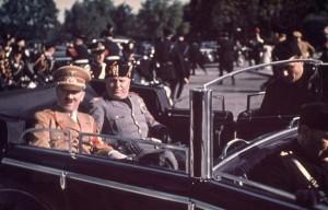 تصاویر : هیتلر و موسولینی در خیال جنگ