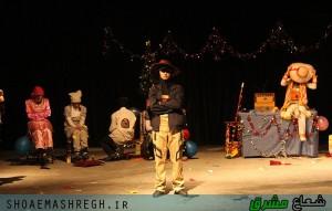 نمایش «شب کریسمس و عروسکها » /گزارش تصویری