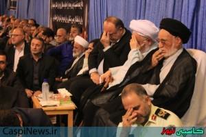 مراسم یادبود و بزرگداشت جان باختگان فاجعه منا در رشت برگزارشد/گزارش تصویری