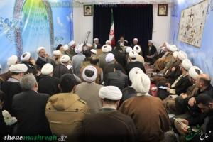 آیت الله سید علی حسینی اشکوری در دیدار با جمعی از طلاب استان گیلان+گزارش تصویری
