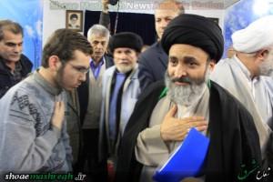 مراسم استقبال از آیت الله اشکوری برگزار شد/گزارش تصویری