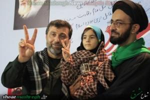 مراسم سوم شهید مدافع حرم حامد کوچک زاده در مهدیه رشت برگزار شد/گزارش تصویری