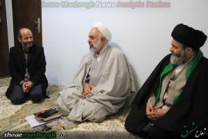 دیدار آیت الله اشکوری با خانواده شهید طاهرنیا مدافع حرم حضرت زینب(س)+تصاویر