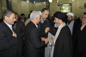 حضور آیت الله سید علی حسینی اشکوری در مسجد جامع ماسال+گزارش تصویری