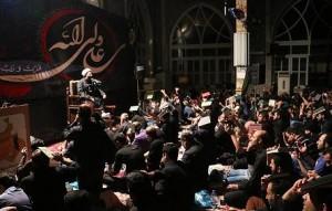 گزارش تصویری؛ مراسم عزاداری شهادت حضرت امیرالمومنین علی (ع)