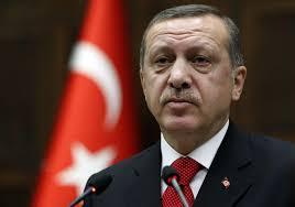 گریۀ اردوغان در مراسم قربانیان کودتا +تصاویر
