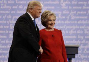 کلینتون پیروز آخرین مناظره انتخابات آمریکا شد