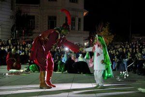 تصاویر نمایش های سازمان فرهنگی، اجتماعی و ورزشی شهرداری رشت در تاسوعا و عاشورای حسینی
