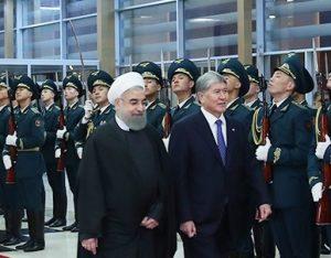 رییس جمهور وارد قرقیزستان شد