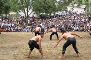 مسابقات کشتی گیلهمردی در رحیمآباد برگزار میشود