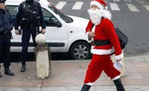 بابانوئل باشگاه شبانه استانبول را به خاک و خون کشید!