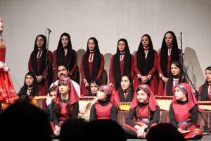 کنسرت رنگین کمان در رشت اجرا شد