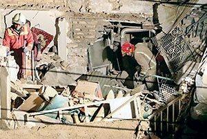 جزئیات تازه در انفجار ۳ خانه
