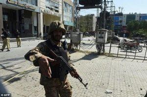 انفجار در لاهور پاکستان ۳۸ کشته و زخمی برجای گذاشت