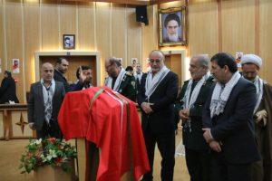 تجلیل از خادمین کنگره ۸۰۰۰ شهید استان گیلان با حضور وزیر دفاع برگزار شد