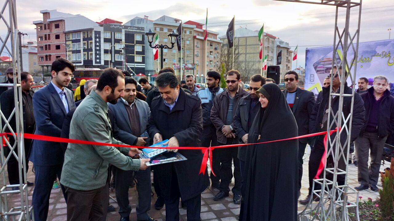 پارک محله ای بلوار آیت الله رودباری افتتاح شد