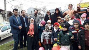 تندیس میدان کودک رونمایی شد