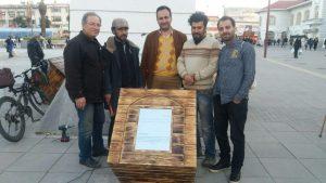 ساخت نماد اولین های رشت در پیاده راه فرهنگی
