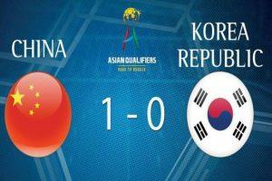 انتخابی جام جهانی روسیه؛ کره جنوبی مغلوب چین شد