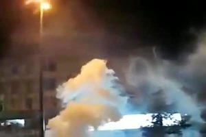 انفجاری بزرگ خیابان میرداماد تهران را لرزاند