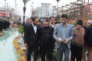 جشنواره گل و گیاه زینتی در پیاده راه فرهنگی رشت