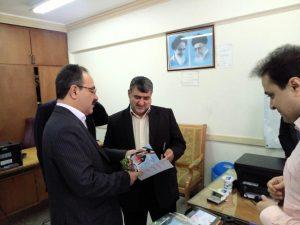 دیدار سید کاظم دلخوش با فرماندار رشت و بازدید از روند ثبت نام نامزدهای انتخابات شورای شهر رشت