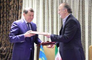 امضای تفاهمنامه همکاری گیلان با ژمبیل قزاقستان