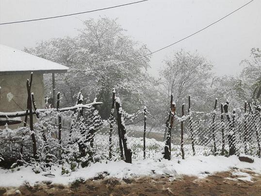 بارش برف بهاری در ارتفاعات شهرستان رودبار