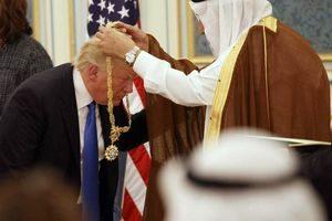 هدایای پادشاه عربستان به ترامپ
